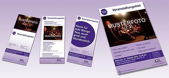Layoutvorlagen für Poster und Flyer für Ihre Veranstaltung zur ...